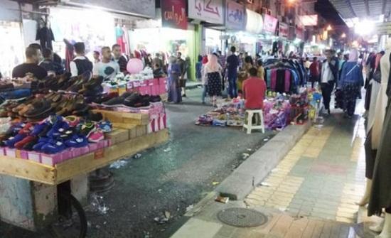 حملة على الاكشاك والبسطات المخالفة في عمان