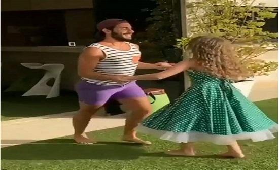 وصلة رقص لابنة نانسي عجرم مع شاب تشعل مواقع التواصل