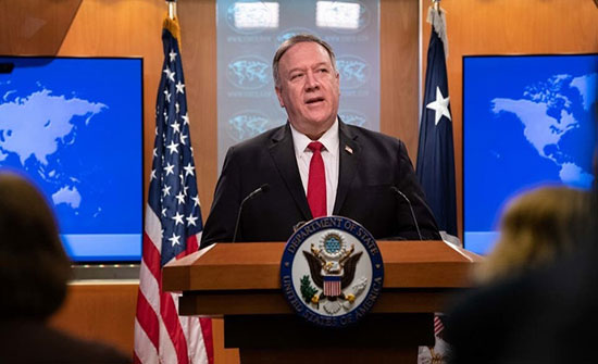 بومبيو: واشنطن تدعم حكومة الكاظمي وتحترم سيادة العراق