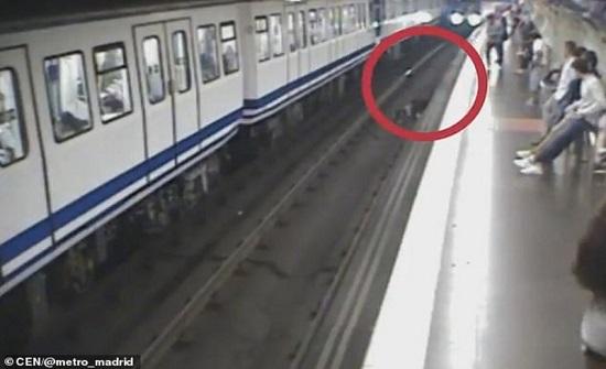 مشهد مروع.. انشغلت بالجوال حتى وجدت نفسها تحت القطار