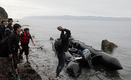 خفر السواحل التركي ينقذ 37 مهاجرا في مياه إيجه والمتوسط