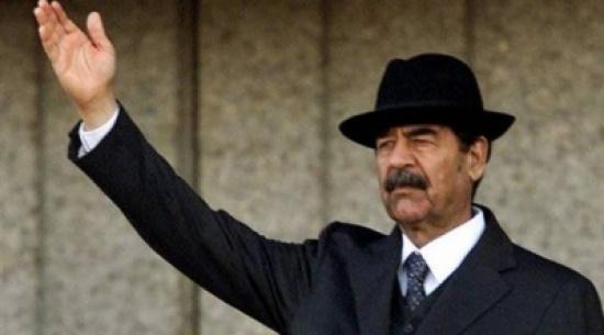 العثور على رواية رومانسية كتبها صدام حسين