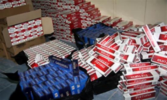 """""""المالية"""" تتنازل عن سجائر مضبوطة لصالح القوات المسلحة والاجهزة الامنية"""