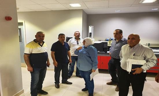 أمين عام وزارة المياه يتفقد أعمال مشروع وادي العرب 2