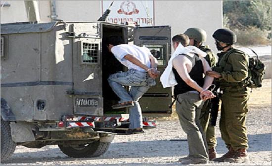 الاحتلال يعتقل 14 فلسطينيا بالضفة الغربية والقدس