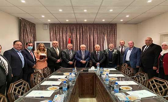 أبوغزالة العالمية واتحاد غرف التجارة السورية يبحثان التعاون المشترك