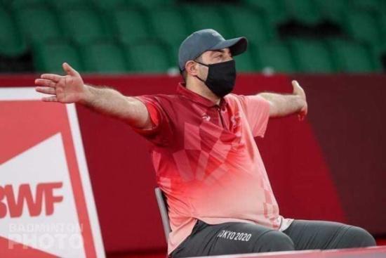 الحكم النوباني يشارك بإدارة مباريات الريشة في أولمبياد طوكيو