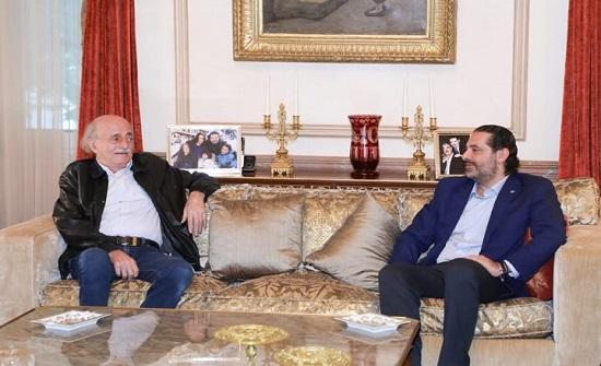 جنبلاط يعارض تكليف الحريري بالحكومة: لن أستقبل موفده