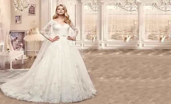 بالصور.. مجموعة مميزة من فساتين الزفاف لتحصلي على إطلالة الملكات