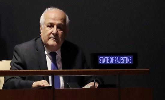 فلسطين: لا وجود لحقوق سيادية لإسرائيل في القدس الشرقية