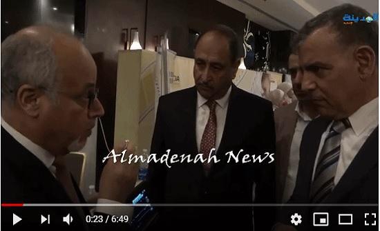 شاهد بالصور والفيديو  : مؤتمر طب الخداج  وجولة وزير الصحة والخشاشنة في  معرض الاجهزة الطبية