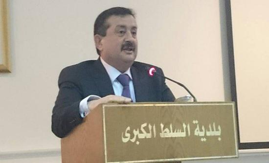 رئيس بلدية السلط يدعو لاعتماد التصريحات الرسمية بخصوص الاغلاقات والاتلافات
