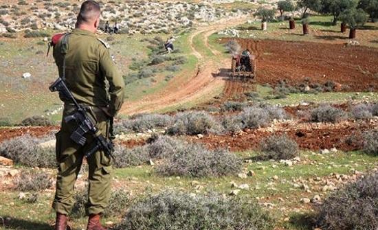الاحتلال يصادق على مصادرة أراض ووقف بناء في بيت لحم