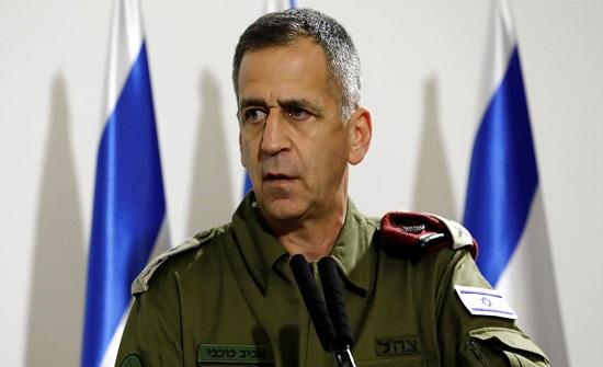 رئيس أركان الجيش الإسرائيلي يحذر واشنطن من العودة إلى الاتفاق النووي الإيراني