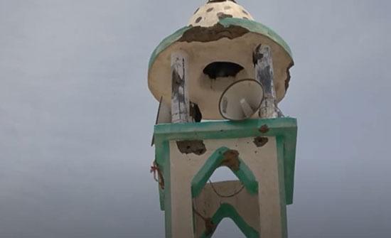 بالفيديو.. قصف حوثي يستهدف مسجدا ومنازل بالحديدة