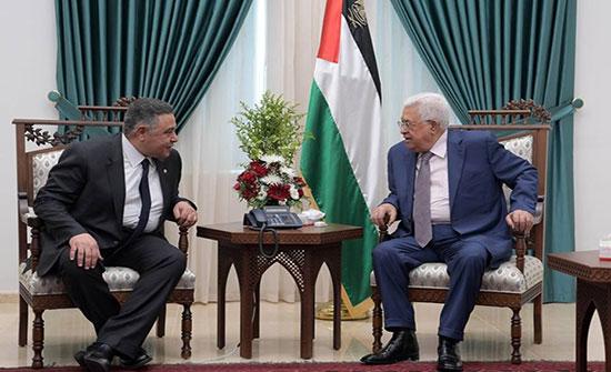 بعد لقاءاته بغزة.. الوفد المصري يصل لرام الله ويجتمع مع عباس