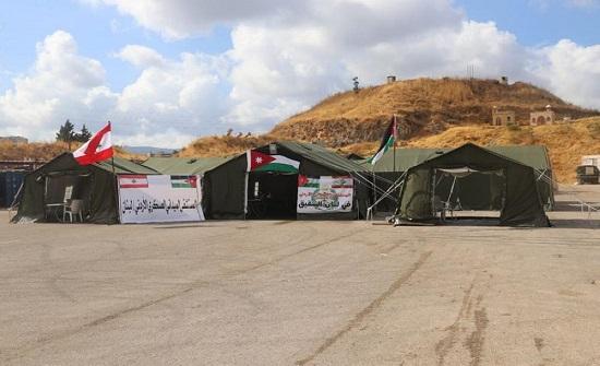 المستشفى الميداني الأردني في بيروت يواصل خدماته الطبية والعلاجية