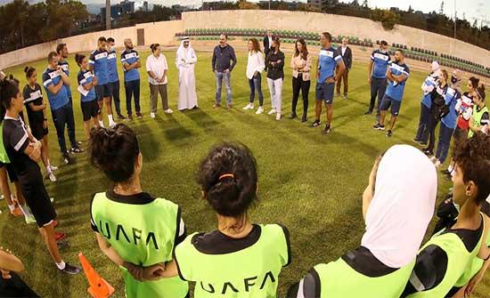 الأمير علي يطمئن على استعدادات منتخب السيدات للتصفيات الآسيوية