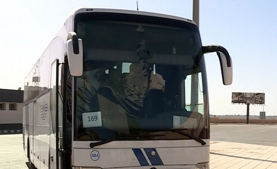 وصول 6 حافلات لعائدين أردنيين برا من السعودية