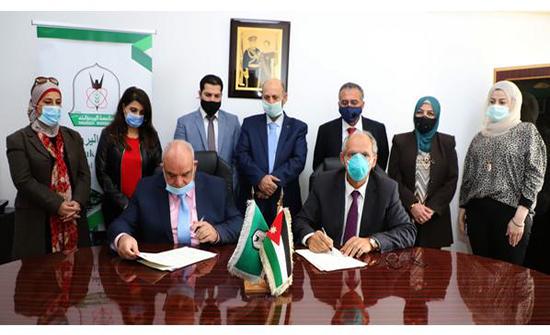 اتفاقية تقديم خدمات تدريبية بين اليرموك وغرفة تجارة إربد