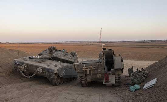 الجيش الإسرائيلي يطلق تدريبات عند حدود غزة