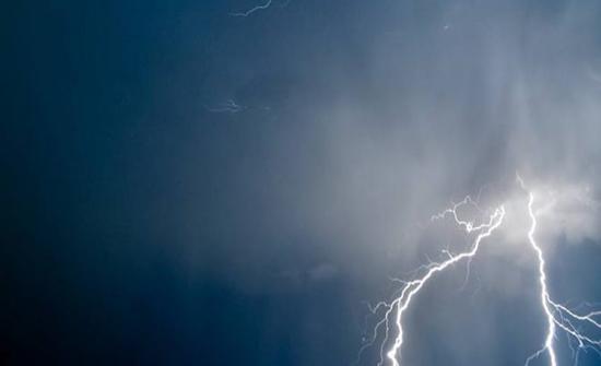 الثلاثاء : طقس رَطب مع فرصة لهطول زخات رعدية من الأمطار
