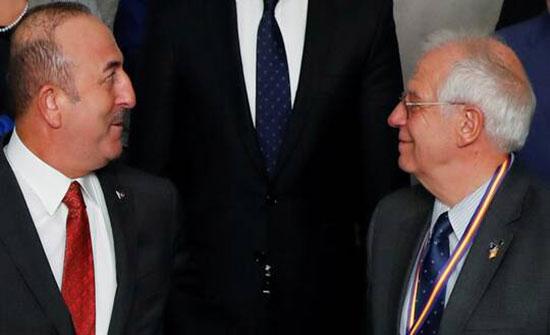بوريل يعرب لتشاووش أوغلو عن قلقه إزاء التطورات في ليبيا