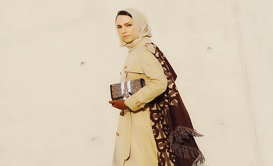 أزياء محجبات عصرية جذابة للشتاء من وحي الفاشنيستا