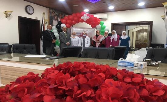 مستشفى المقاصد يحتفل بعيد الاستقلال