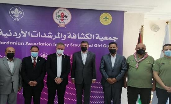 وزير الشباب يطلع على نشاطات جمعية الكشافة والمرشدات الأردنية