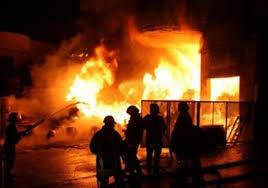 وفاة بحريق منزل في جبل النظيف