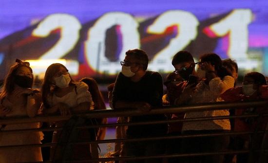 صور : الاحتفالات بالعام الجديد حول العالم