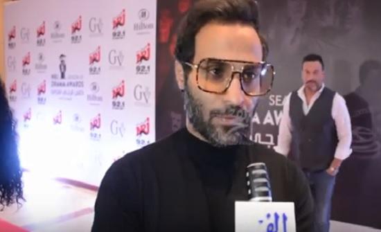 """فيديو : احمد فهمي يكشف الحالة الصحية لهنا ويعلل """" الحسد """""""