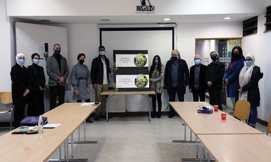 فوز طلبة الجامعة الألمانية الأردنية بمسابقة العلياء للصناعات المتخصصة