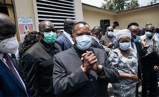 الرئيس الكونغولي المنتهية ولايته دينيس ساسو نغيسو يكتسح الانتخابات