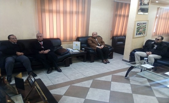 رئيس جامعة الحسين بن طلال يضع امكانات الجامعة وكوادرها في خدمة المجتمع المحلي.