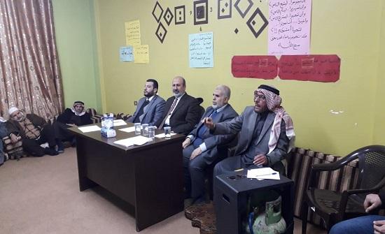 """العضايلة خلال لقاء في """"الكرك"""": قوة الأردن في توحد الصف الوطني لمواجهة صفقة القرن"""