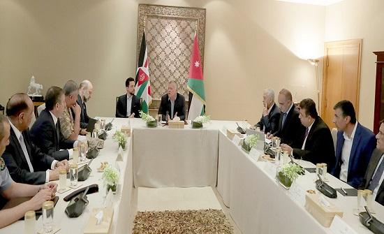 الملك يترأس اجتماعا لمجلس السياسات الوطني
