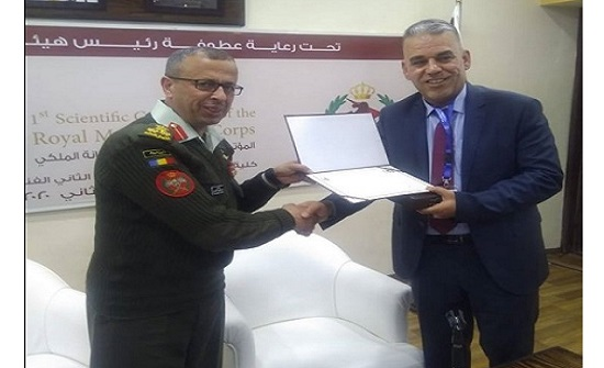 رئيس جامعة إربد الأهلية يشارك في مؤتمر سلاح الصيانة الملكي