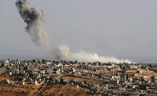 ارتفاع عدد قتلى الغارات الروسية والسورية على إدلب إلى 20 مدنيا بينهم أطفال