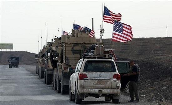 تعزيزات عسكرية أمريكية كبيرة قرب حقول النفط شرقي سوريا