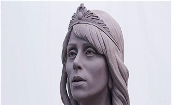 تمثال للسيّدة فيروز بتوقيع نحات مصري (صور)