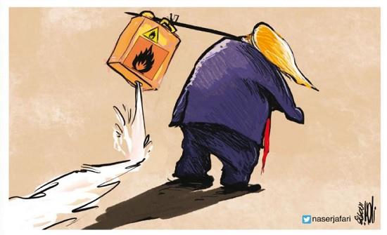 """ترامب لن يترك """"الحقيبة النووية"""" لبايدن"""