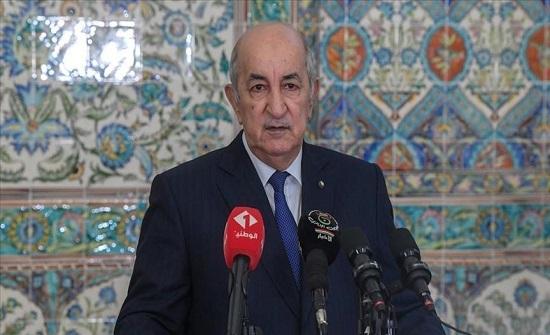 رئيس الجزائر: مستعدون لاحتضان لقاءات المصالحة الليبية