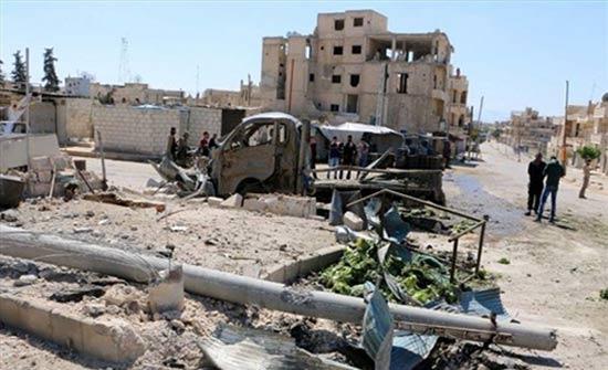 هدوء في إدلب بعد سقوط الطائرة الروسية