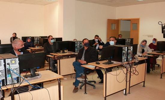 إفتتاح الورشة التدريبية بعنوان نظام المراسلات الإلكترونية في جامعة الحسين بن طلال