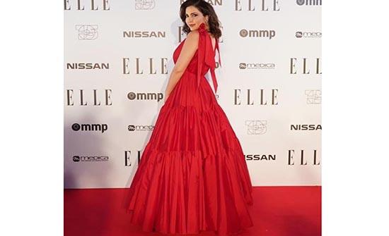 أجمل فساتين باللون الأحمر من النجمات العربيات ليوم الحب