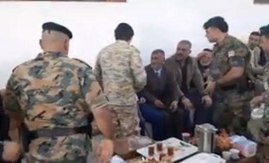 بالفيديو : ولي العهد يقدم واجب العزاء بالرقيب هشام الشلول في اربد