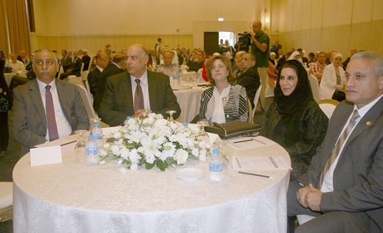 غوشة ترعى الندوة التعريفية بجائزة التميز الحكومي العربي