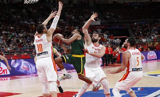 بالصور: جاسول يقود إسبانيا لنهائي مونديال السلة